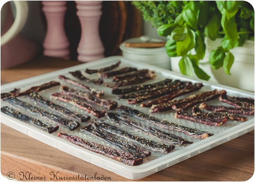 Rezept Beef Jerky aus dem Dörrautomaten