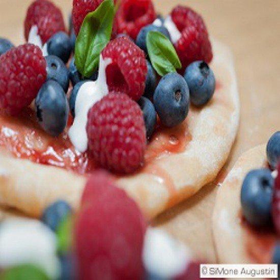 Rezept Beeren-Pizzetten
