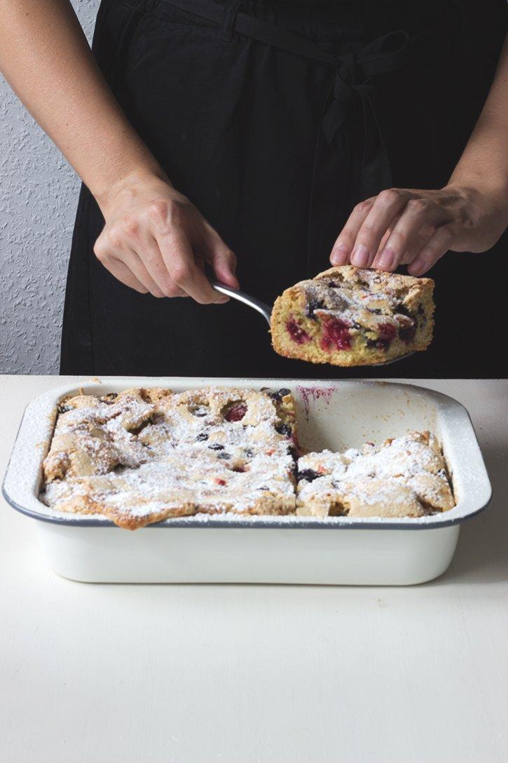 Rezept Beerenkuchen vom Blech