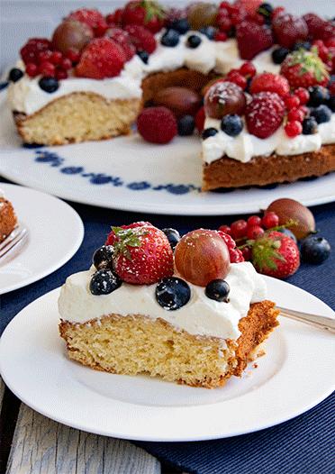 Rezept Beerenmix-Kuchen