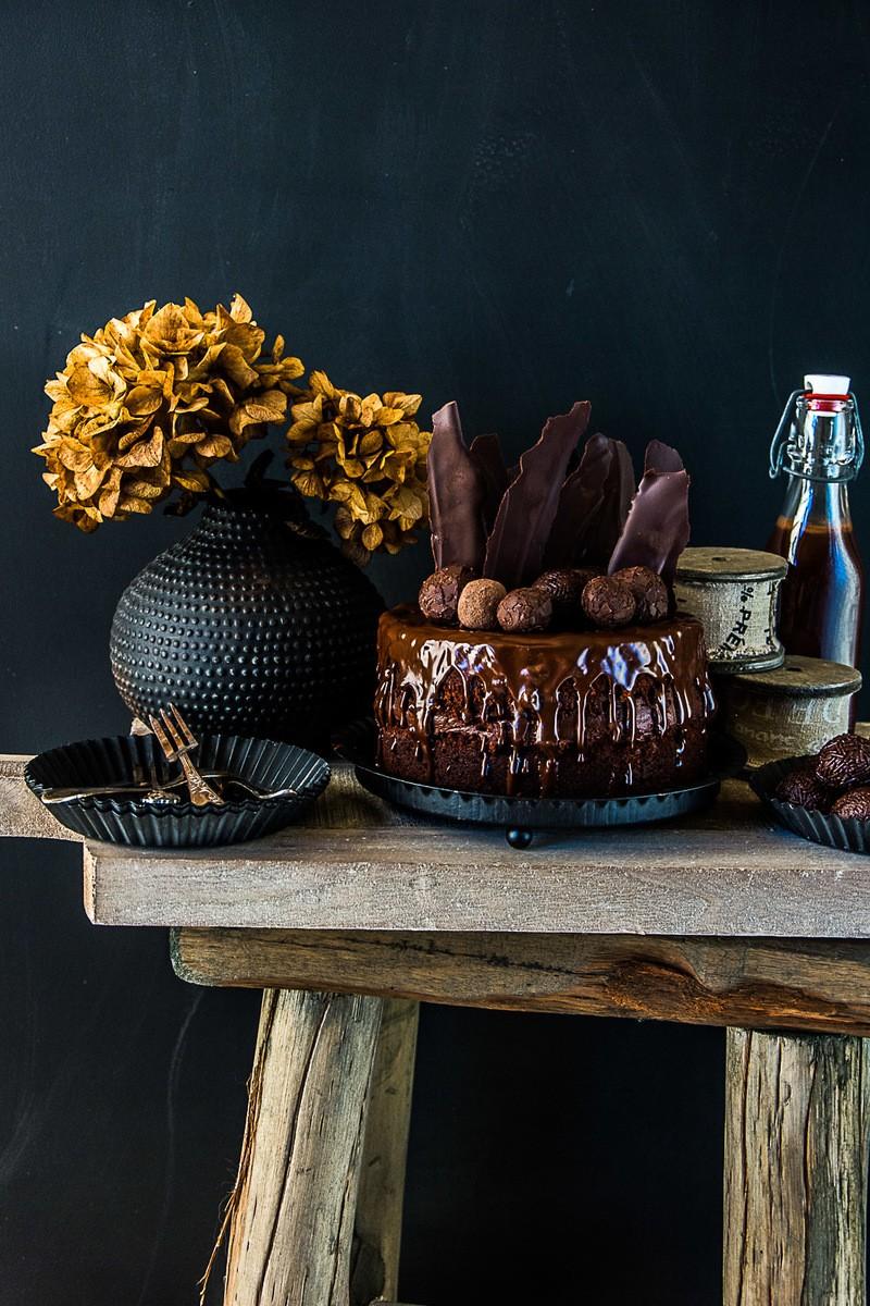 Rezept Beschwipster Chocolate Birthday Cake