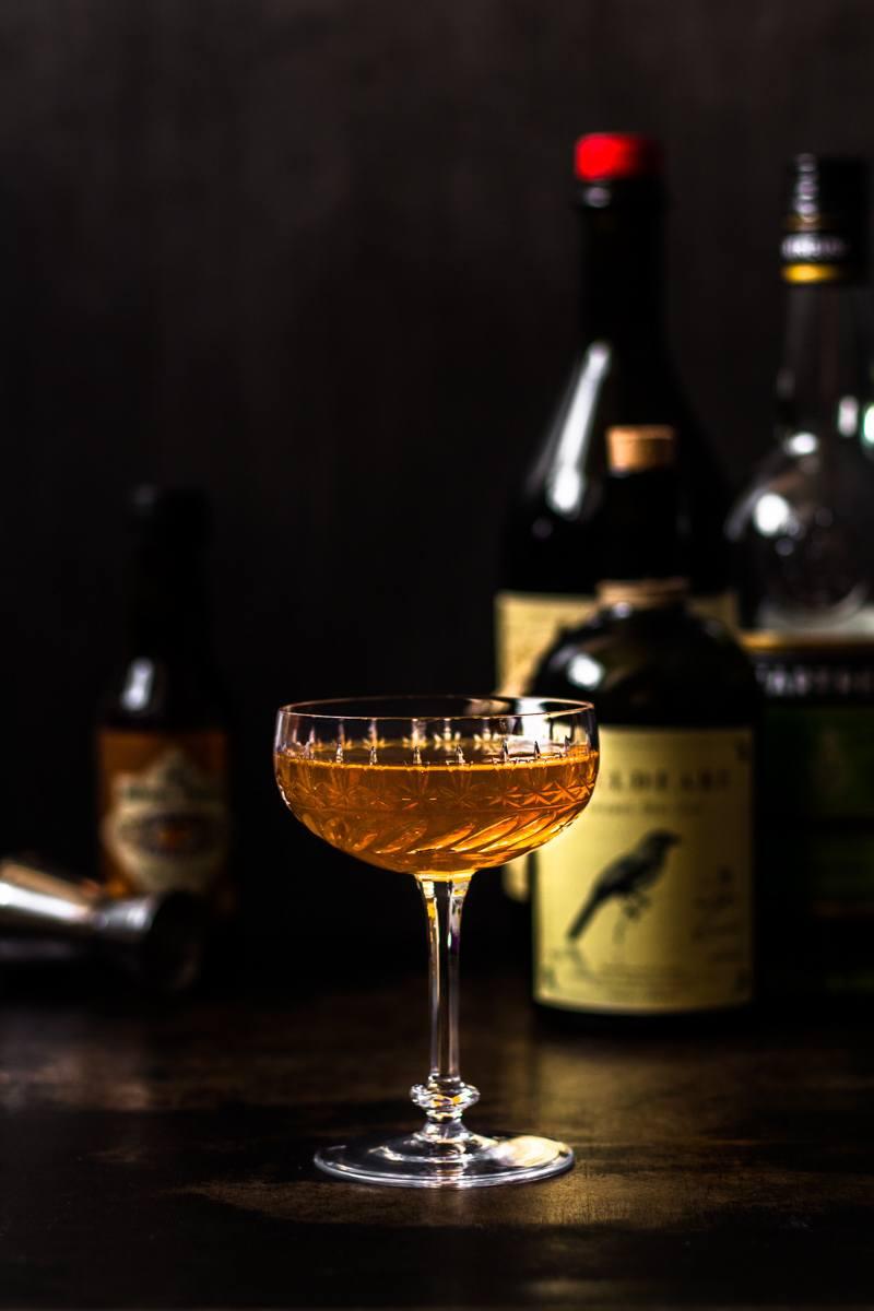 Rezept Bijou Cocktail - Ein vergessenes Juwel