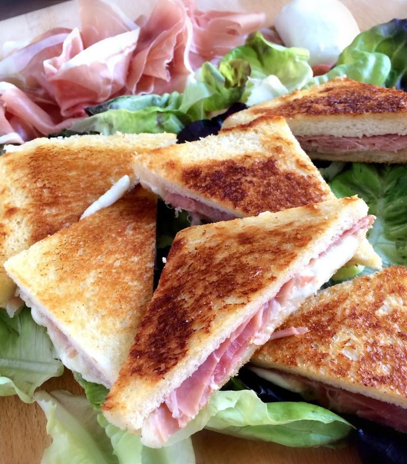 Rezept Bikini Sandwich