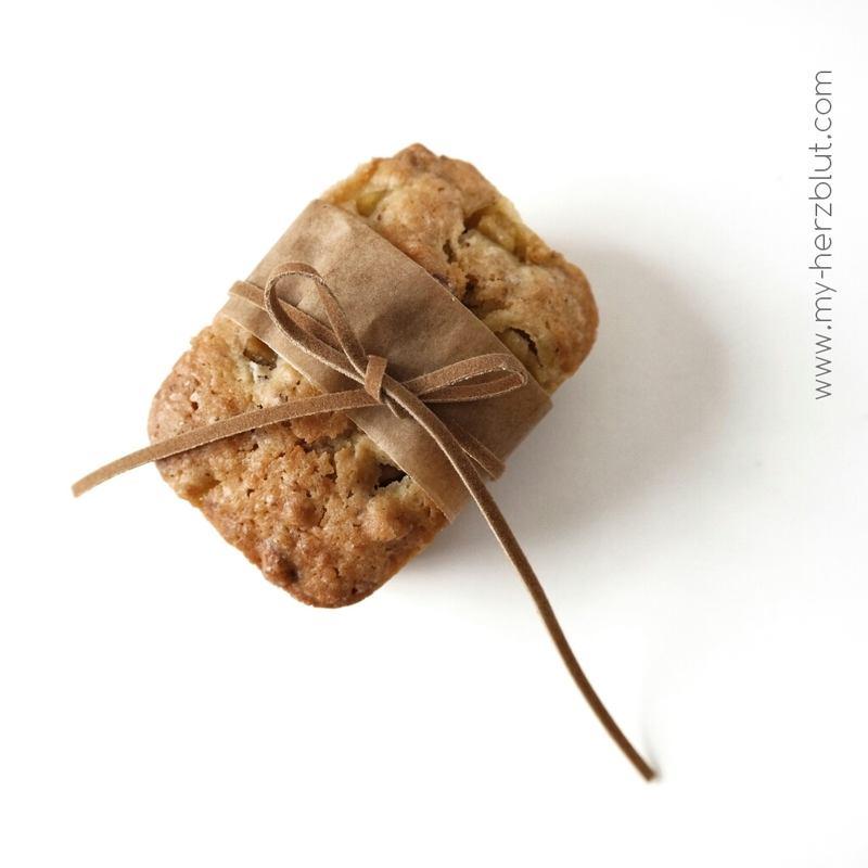 Rezept Birne x Kokos - MiniKuchen