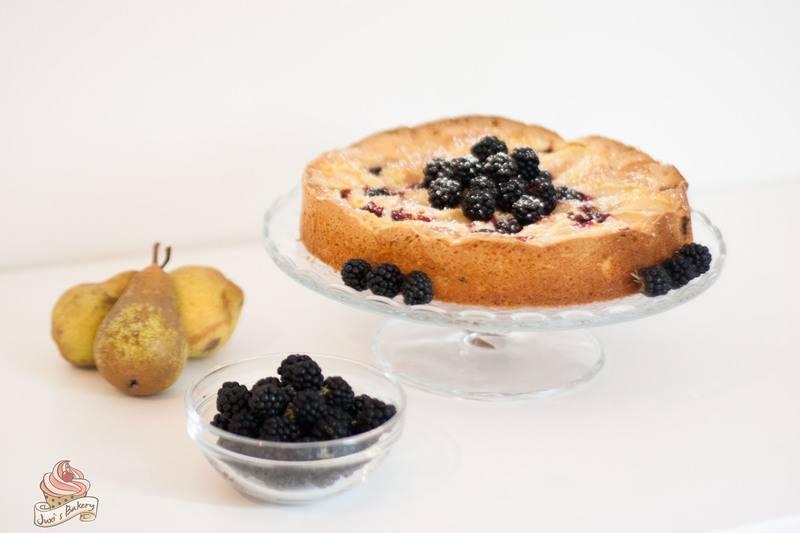 Rezept Birnen-Brombeer-Kuchen