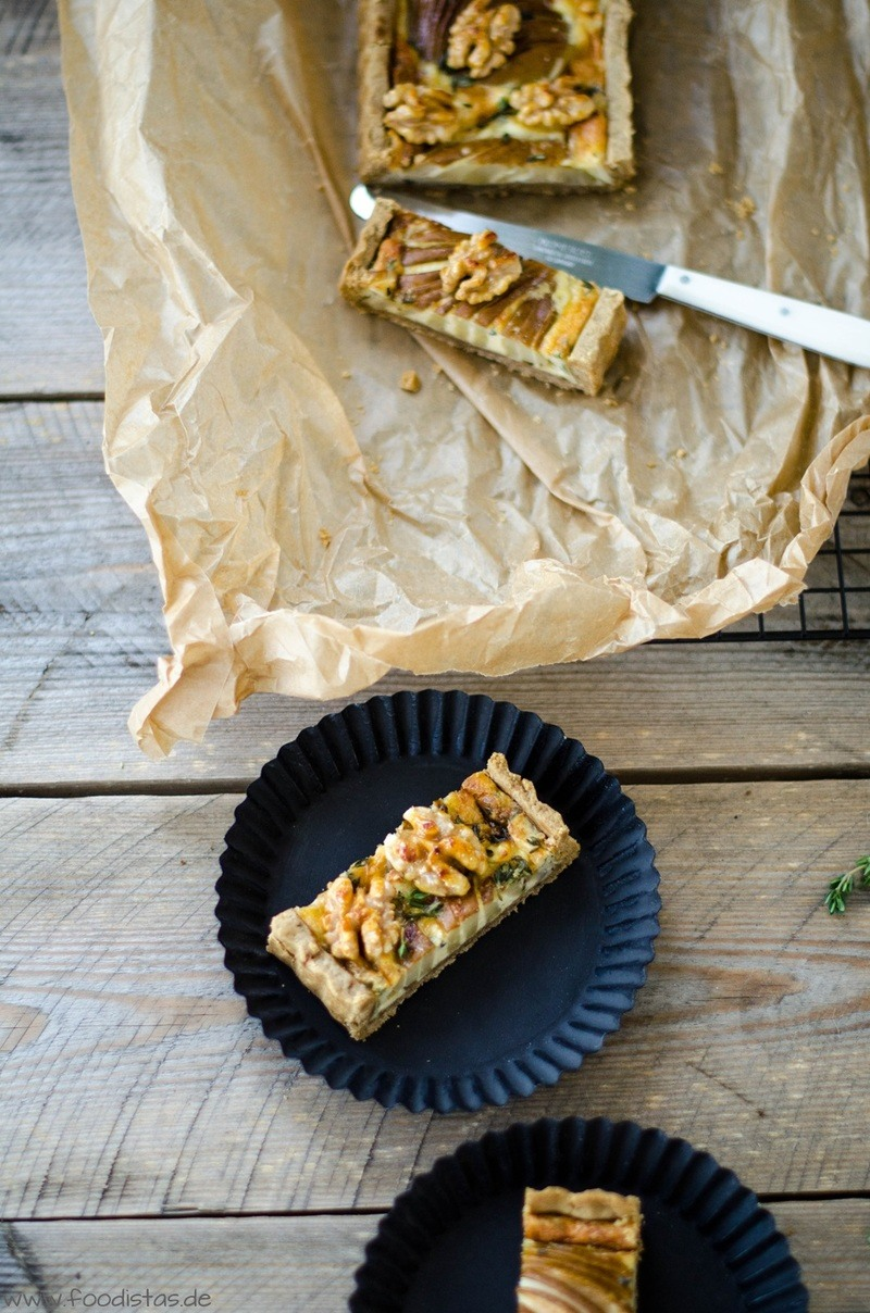 Rezept Birnen Gorgonzola Tarte