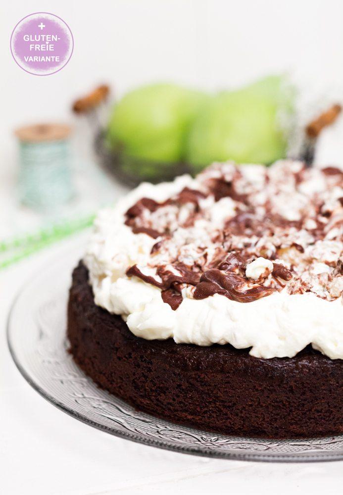 Rezept Birnen-Schoko-Kuchen