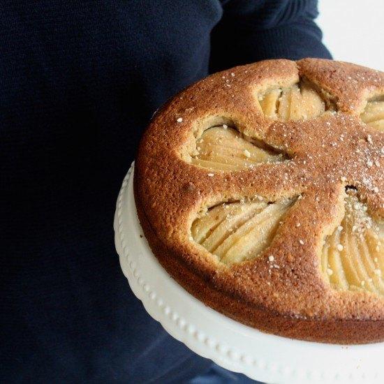 Rezept Birnenkuchen mit Nüssen