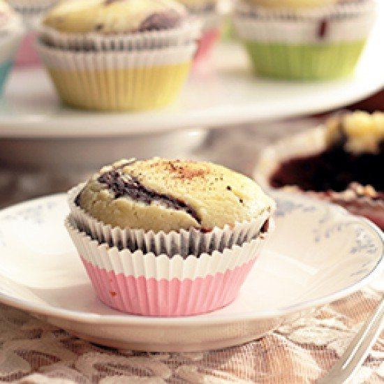 Rezept Black Bottom Cupcakes