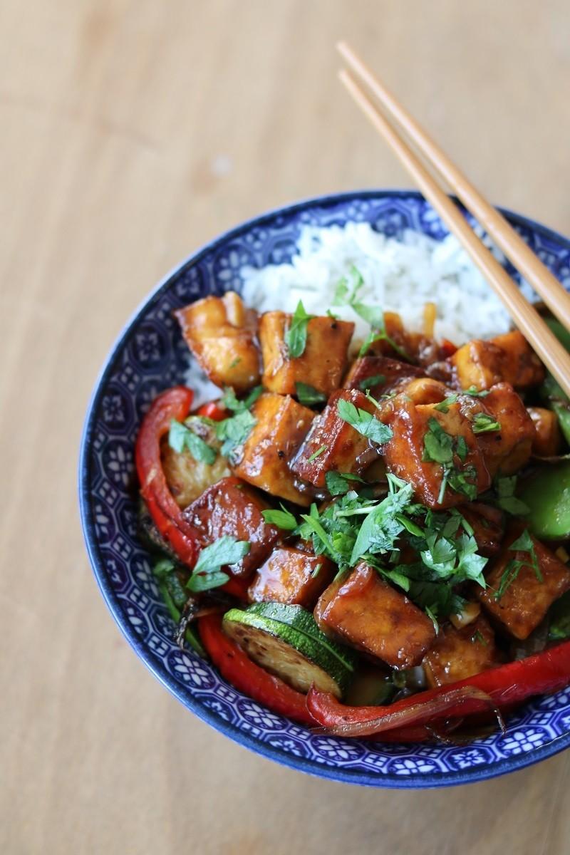 Rezept Black Pepper Tofu