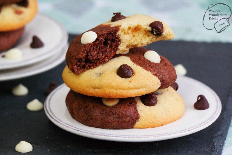 Rezept Black & White Cookies