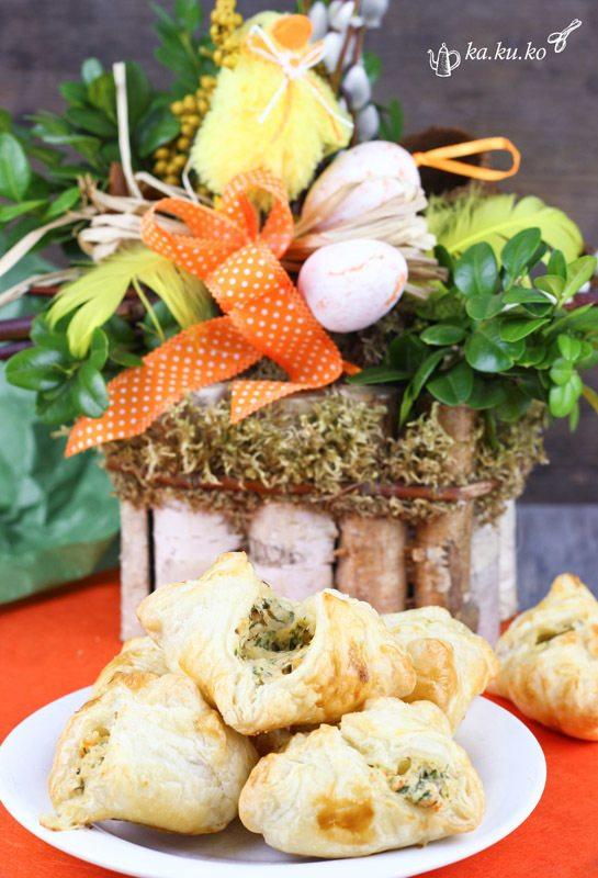 Rezept Blätterteig-Krabbentaschen