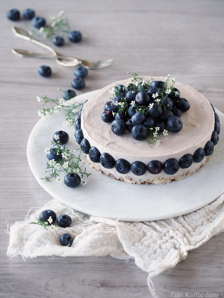 Rezept Blaubeer-Cheesecake