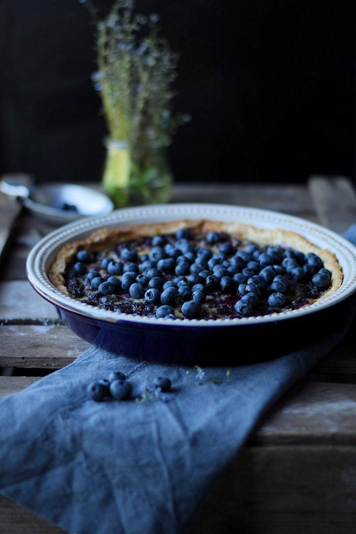 Rezept Blaubeer Clafoutis Tarte