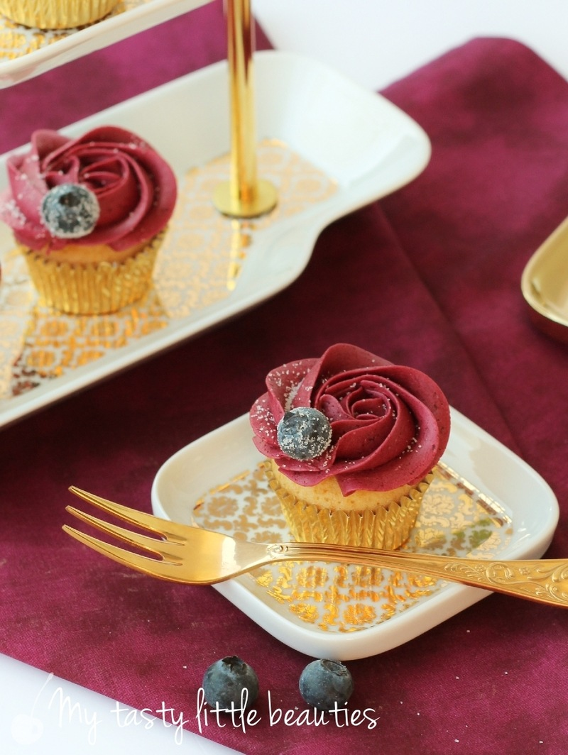 Rezept Blaubeer-Cupcakes