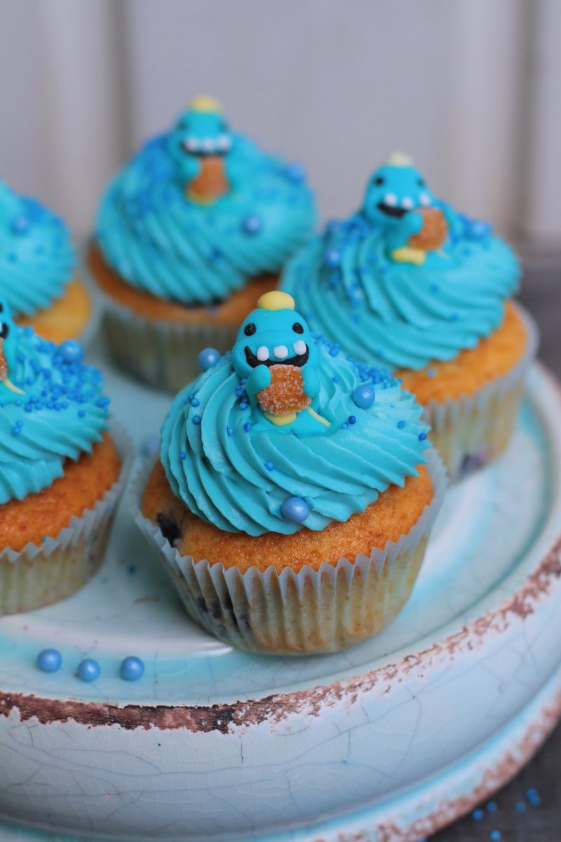 Rezept Blaubeer Cupcakes