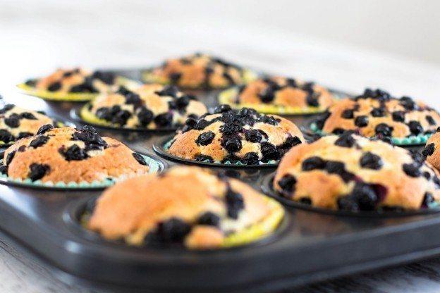 Rezept Blaubeer Muffins
