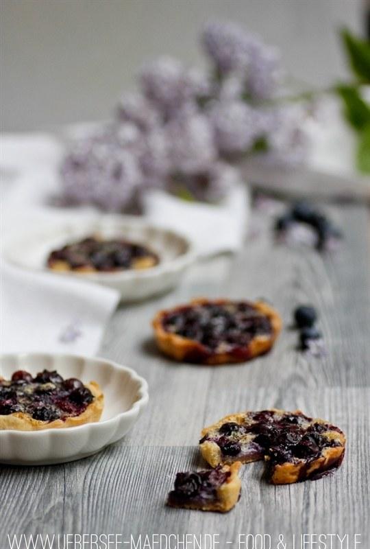 Rezept Blaubeer-Tartelettes