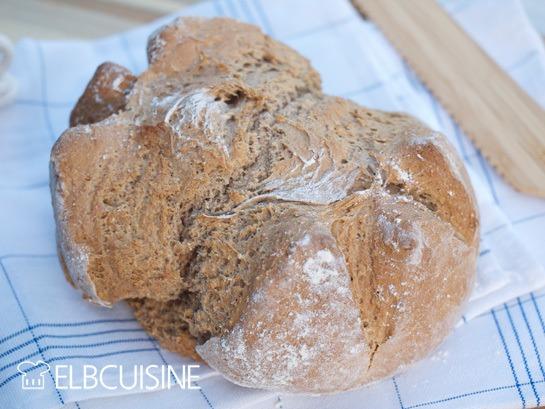 """Rezept Blitz-Roggen-Brot aus """"Jamies Superfood für jeden Tag"""""""
