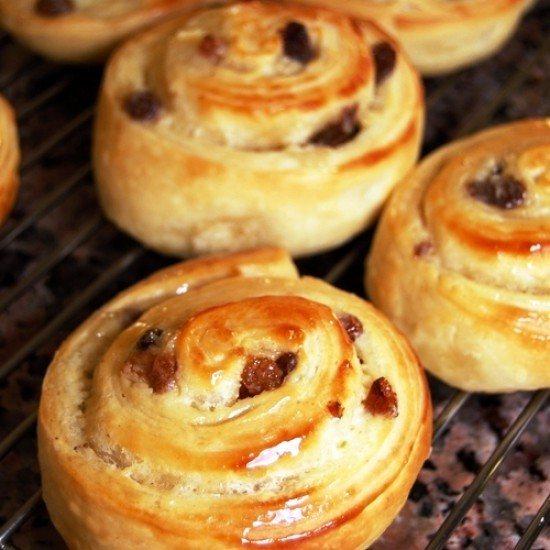 Rezept Blitz Vanilla Danish Swirls