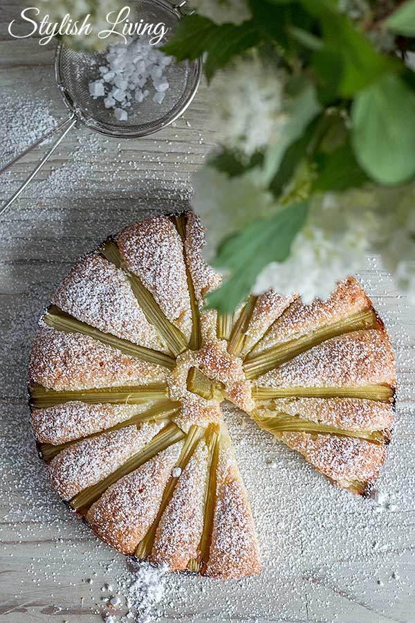 Rezept Blitzschneller Rhabarberkuchen
