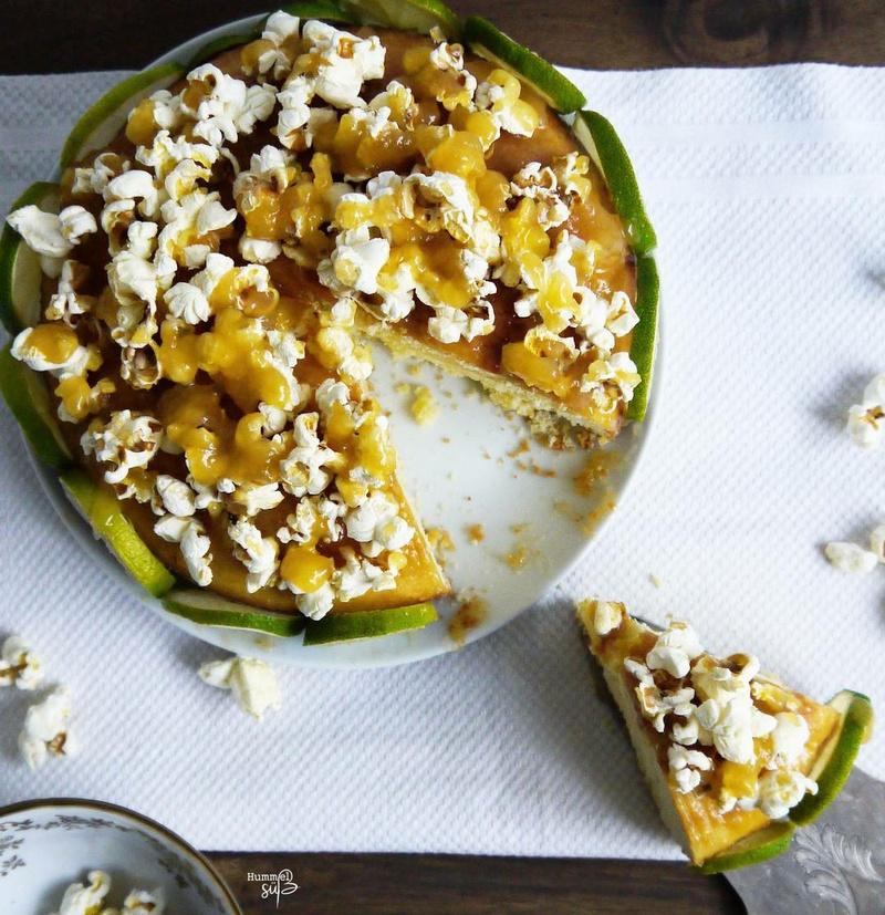 Rezept Blondie-Törtchen, mit Popcorn-Topping und Limette