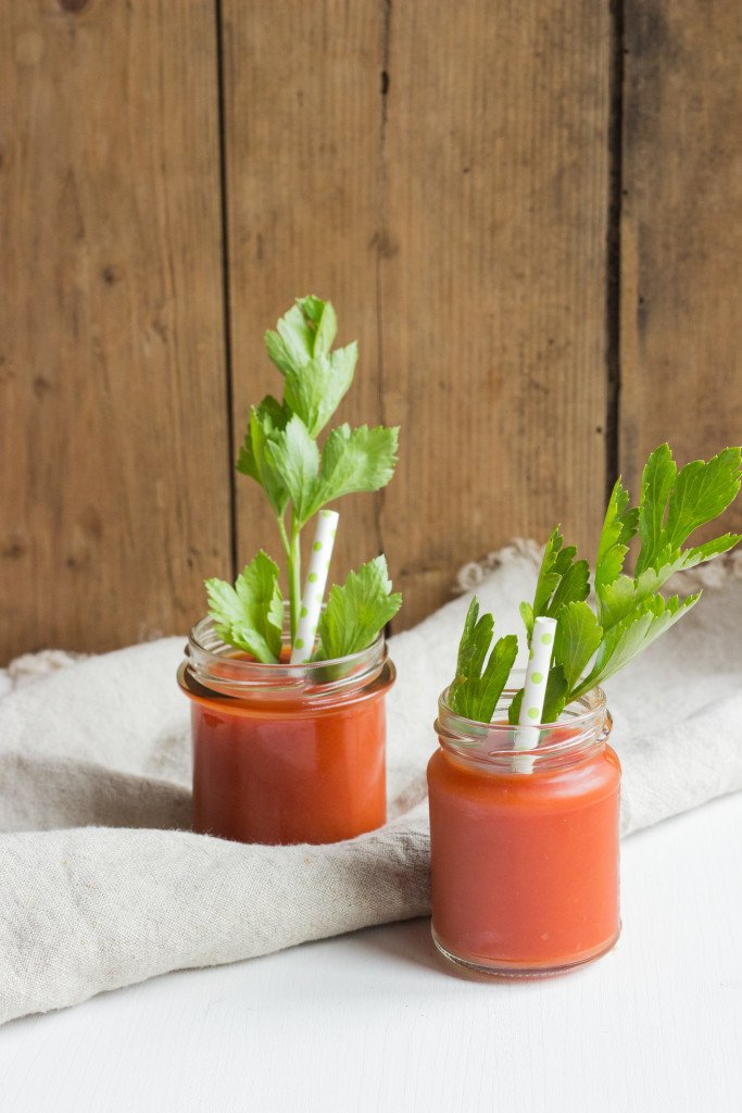 Rezept Bloody Mary mit Staudensellerie