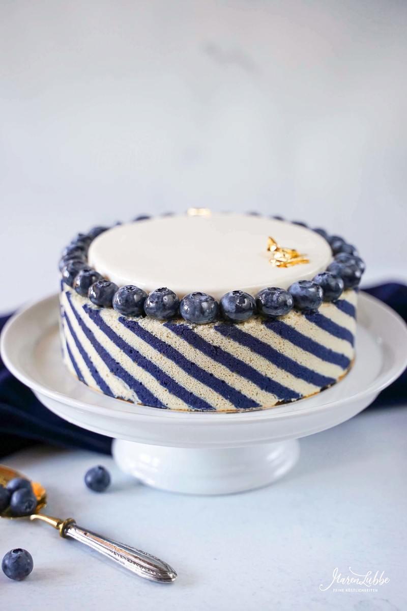 Rezept Blueberry Sky Torte