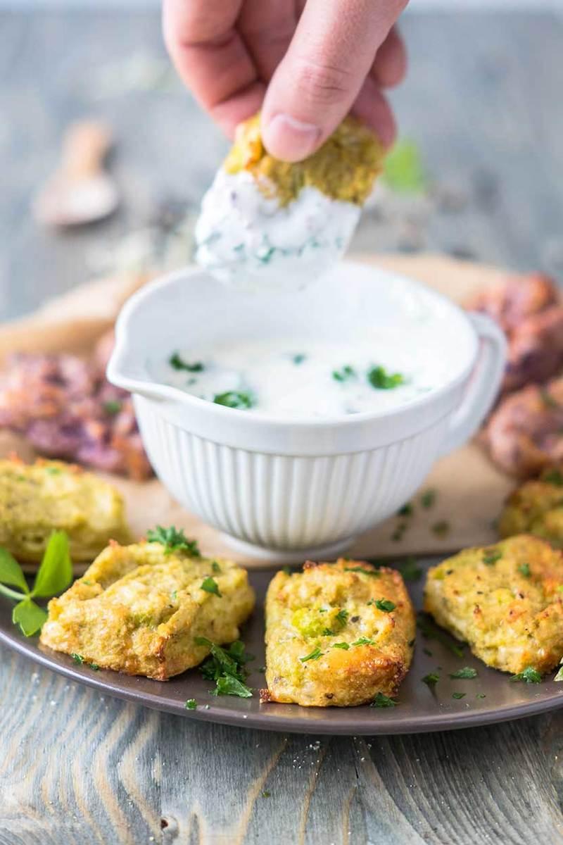 Rezept Blumenkohl Fingerfood mit Käse