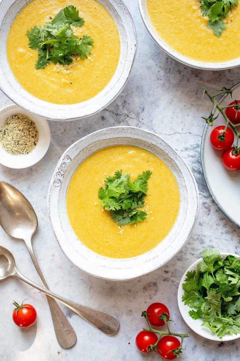 Rezept Blumenkohl-Kokos-Suppe mit Ras el Hanout
