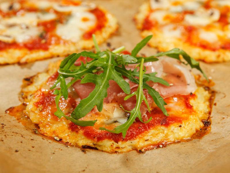 Rezept Blumenkohl-Pizza