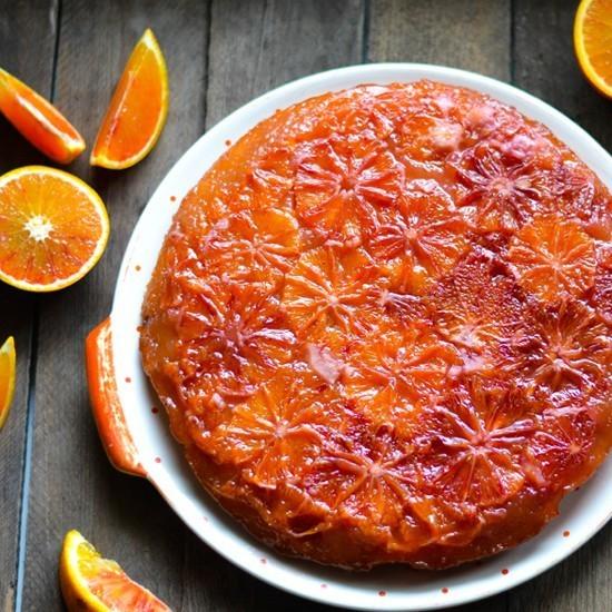 Rezept Blutorangen-Kuchen