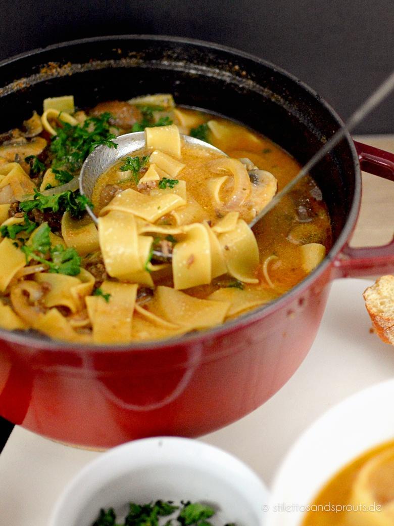 Rezept Boeuf Stroganoff Suppe