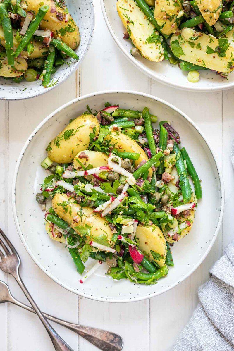 Rezept Bohnen-Kartoffel-Salat