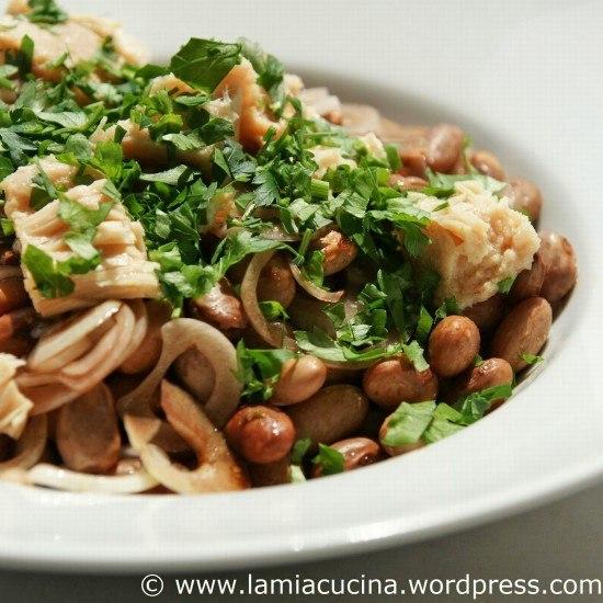 Rezept Bohnen-Thonsalat