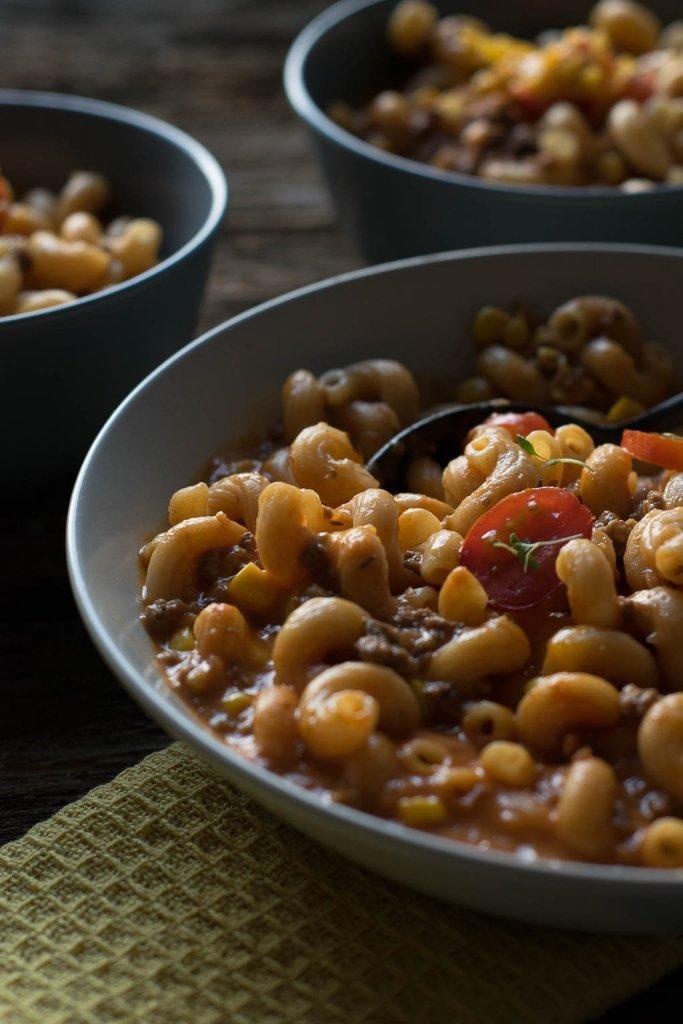 Rezept Bolognese Suppe mit Käse