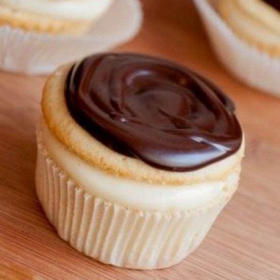 Rezept Boston Cream Cupcakes