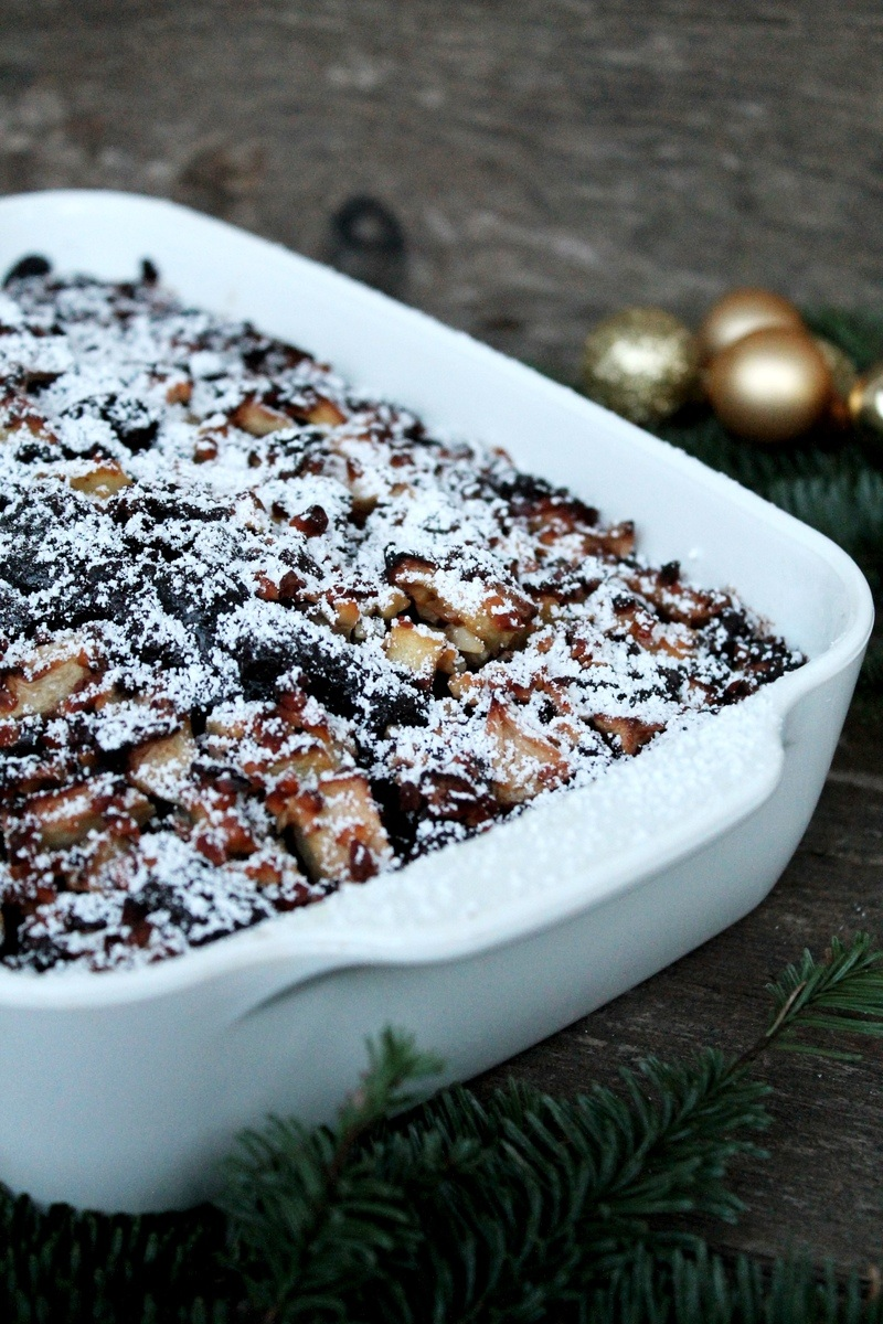 Rezept Bratapfel Brownie