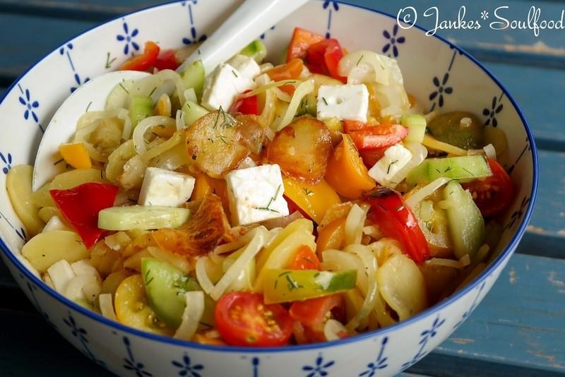 Rezept Bratkartoffelsalat