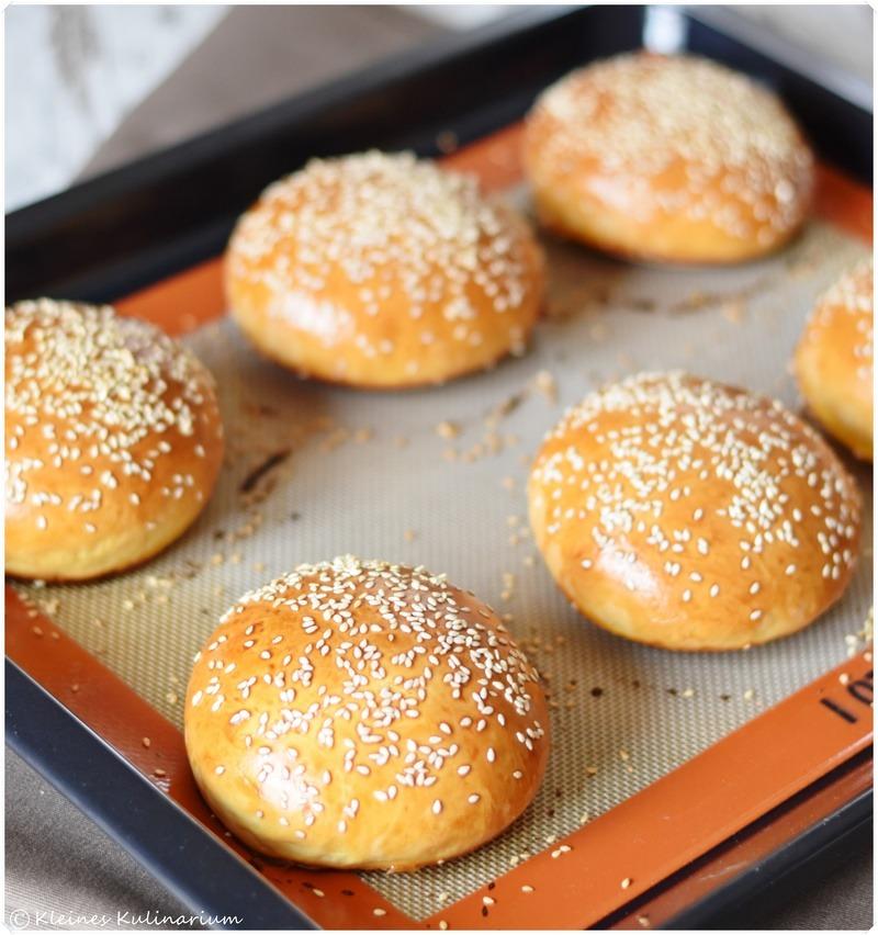 Rezept Brioche Burger Buns