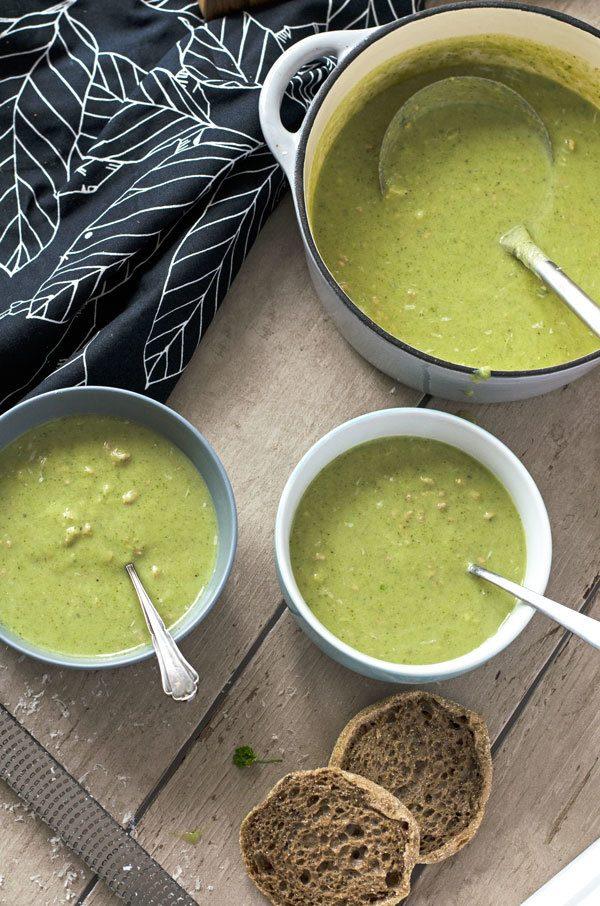 Rezept Brokkoli-Käsesuppe mit Hackfleisch