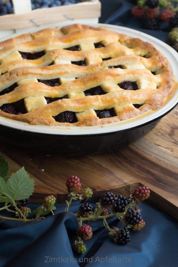 Rezept Brombeer-Blaubeer-Pie