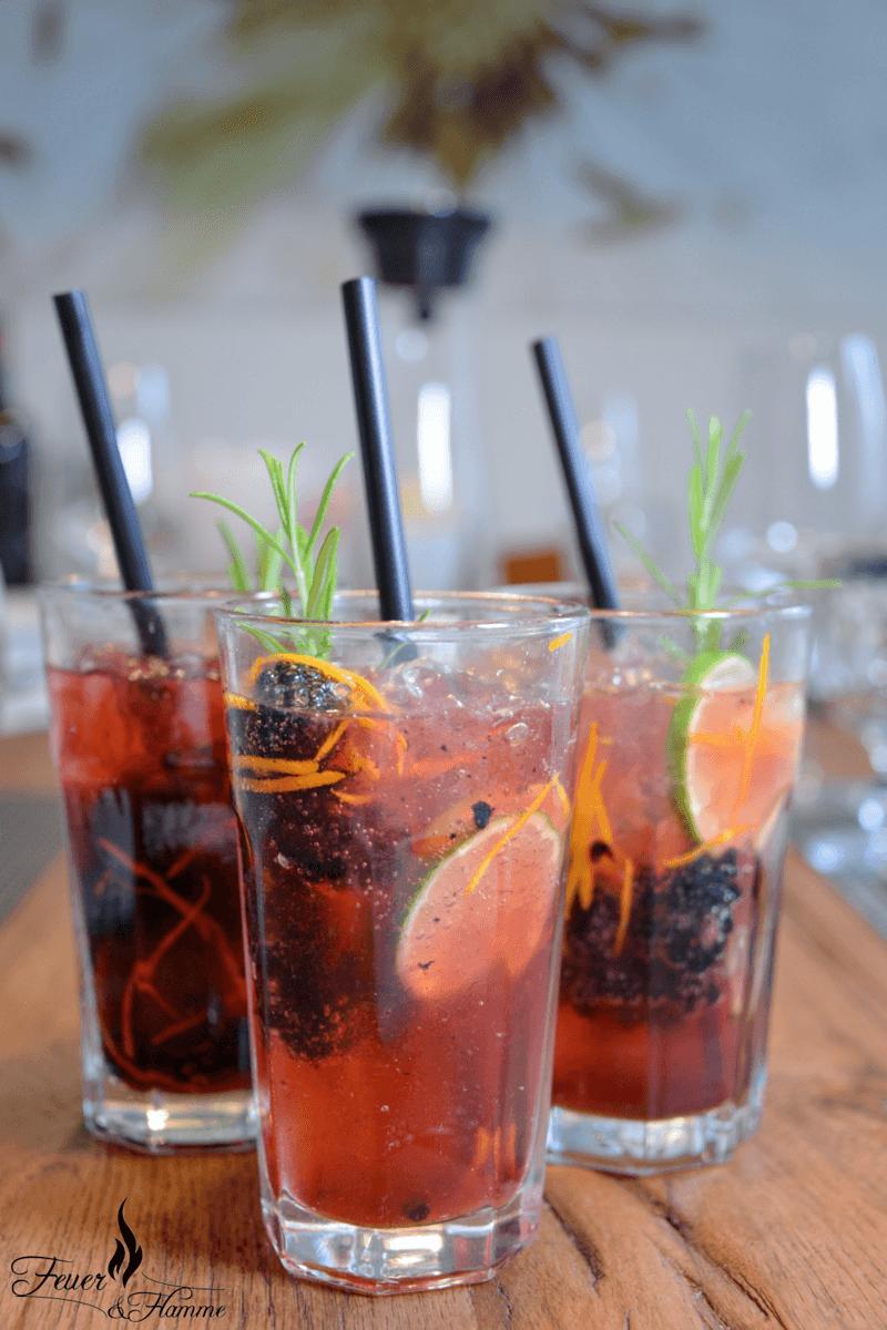 Rezept Brombeer-Limetten Gin Tonic