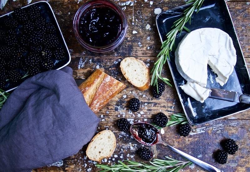 Rezept Brombeer-Rosmarin-Marmelade und rotes Johannisbeer-Lavendel-Sirup