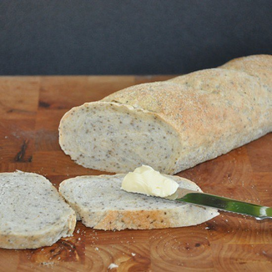 Rezept Brot mit Chia