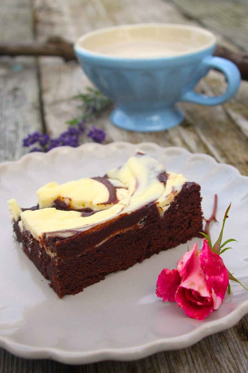 Rezept Brownie-Cheesecake-Swirl