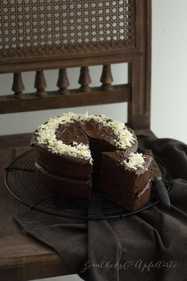 Rezept Brownie-Törtchen mit Schoko-Ganache