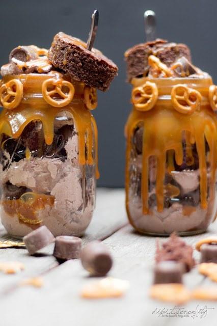 Rezept Brownie-Trifle mit Schoko-Sahne