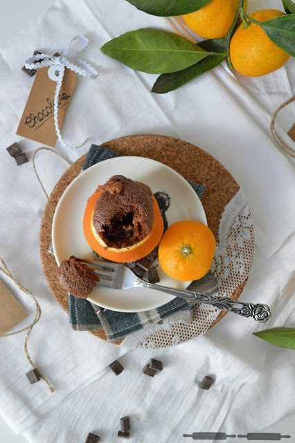 Rezept Brownies in Orangen