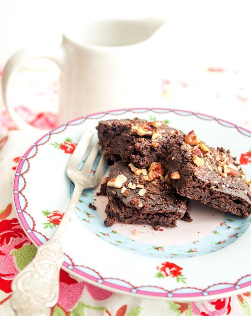 Rezept Brownies mit schwarzen Bohnen
